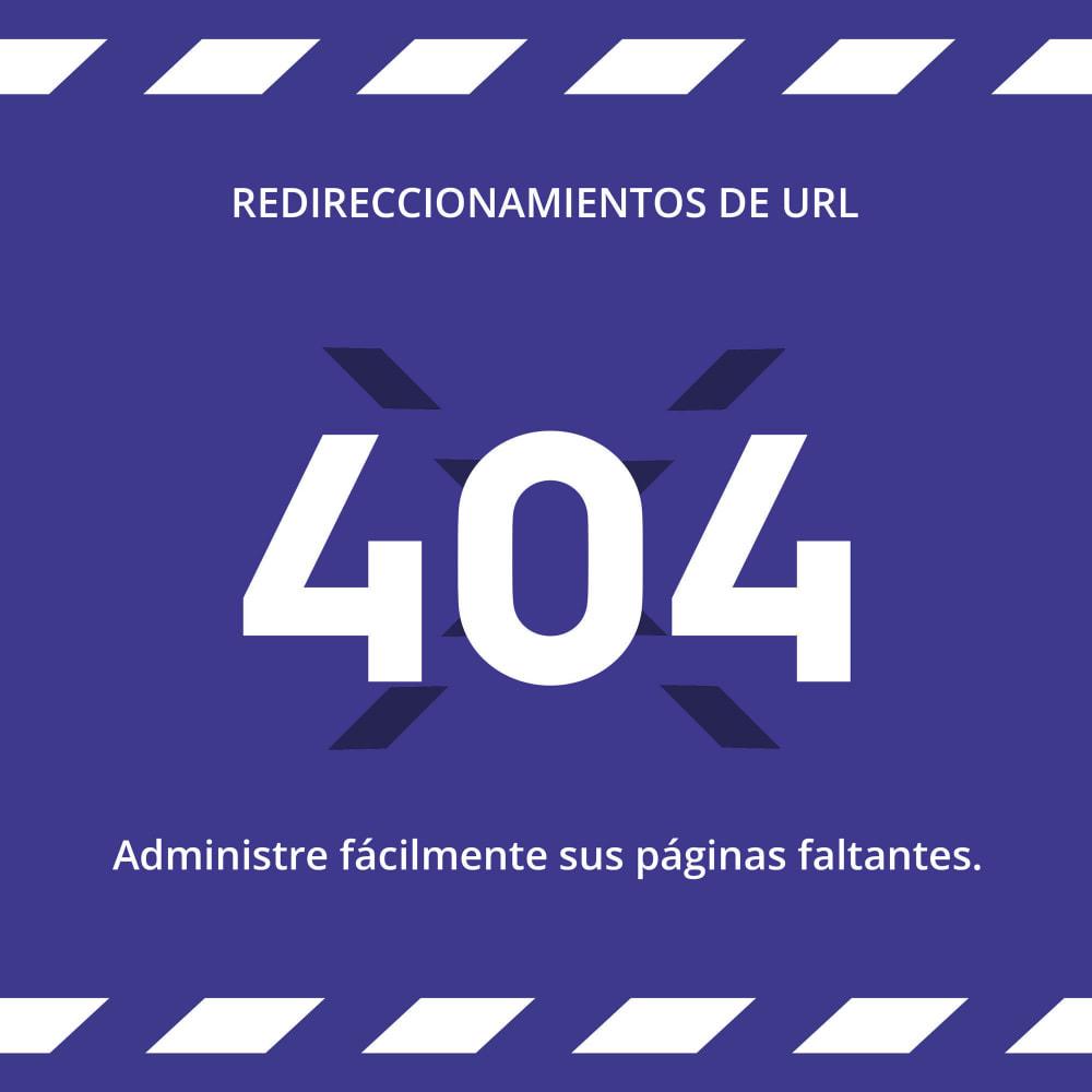 module - URL y Redirecciones - Redireccion URL - 301, Auto-reparación, Multishop & SEO - 1