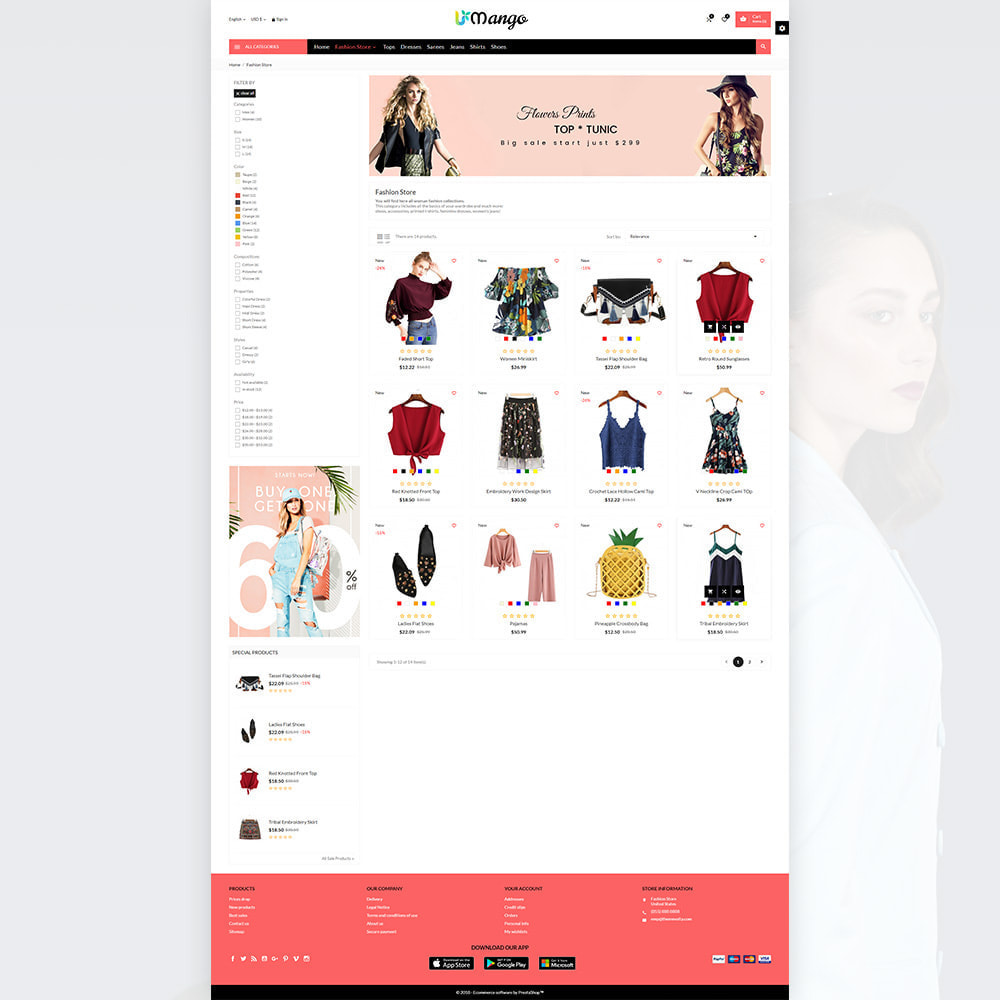 theme - Fashion & Shoes - Mango – Fashion and Stylish Mega Shop - 3