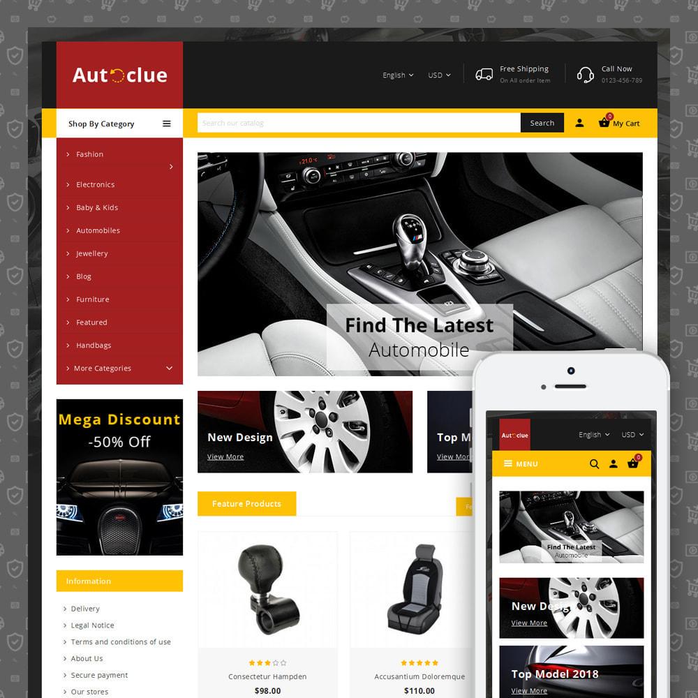 theme - Automotive & Cars - Autoclue - Automobile Store - 1