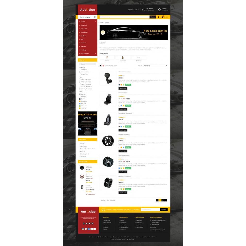 theme - Automotive & Cars - Autoclue - Automobile Store - 4
