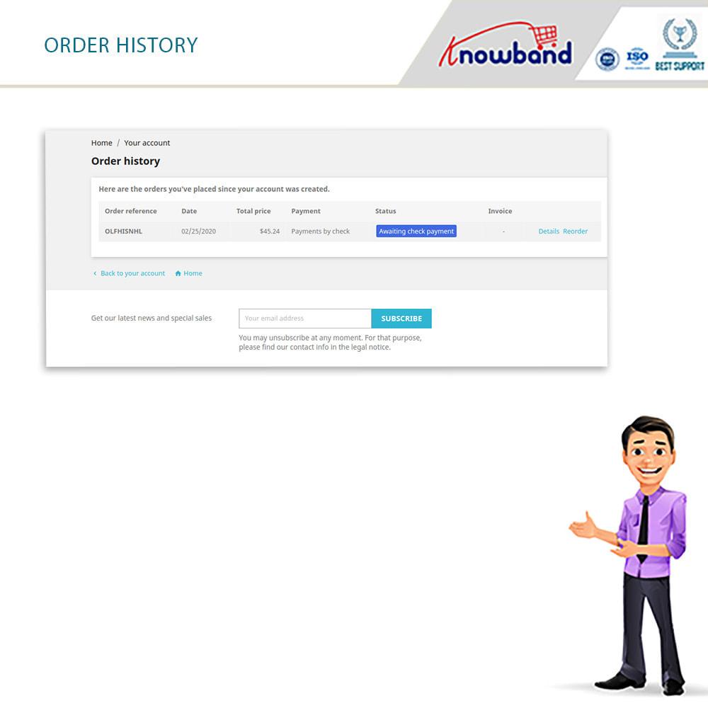 module - Date de livraison - Knowband - Horaire de Livraison Préféré - 4