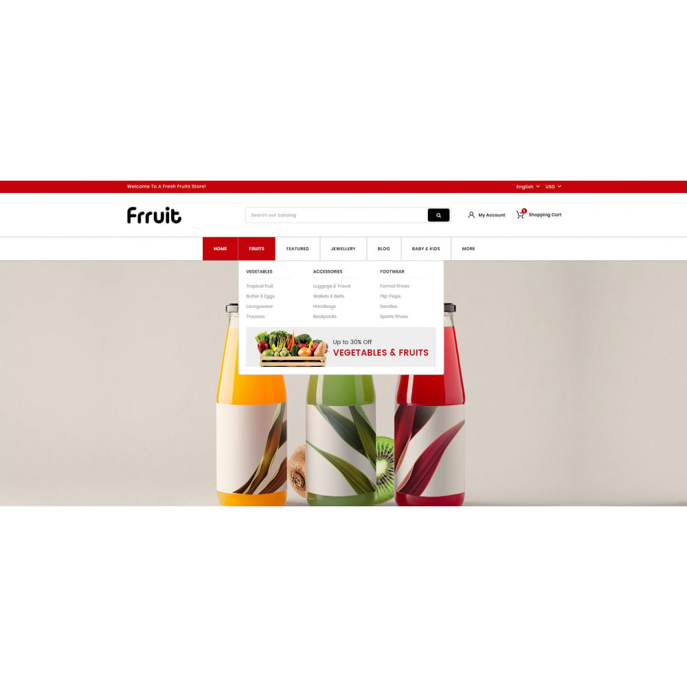 theme - Food & Restaurant - Fresh Fruits Store - 6
