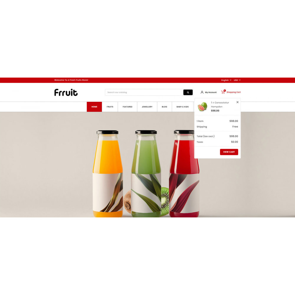 theme - Food & Restaurant - Fresh Fruits Store - 7