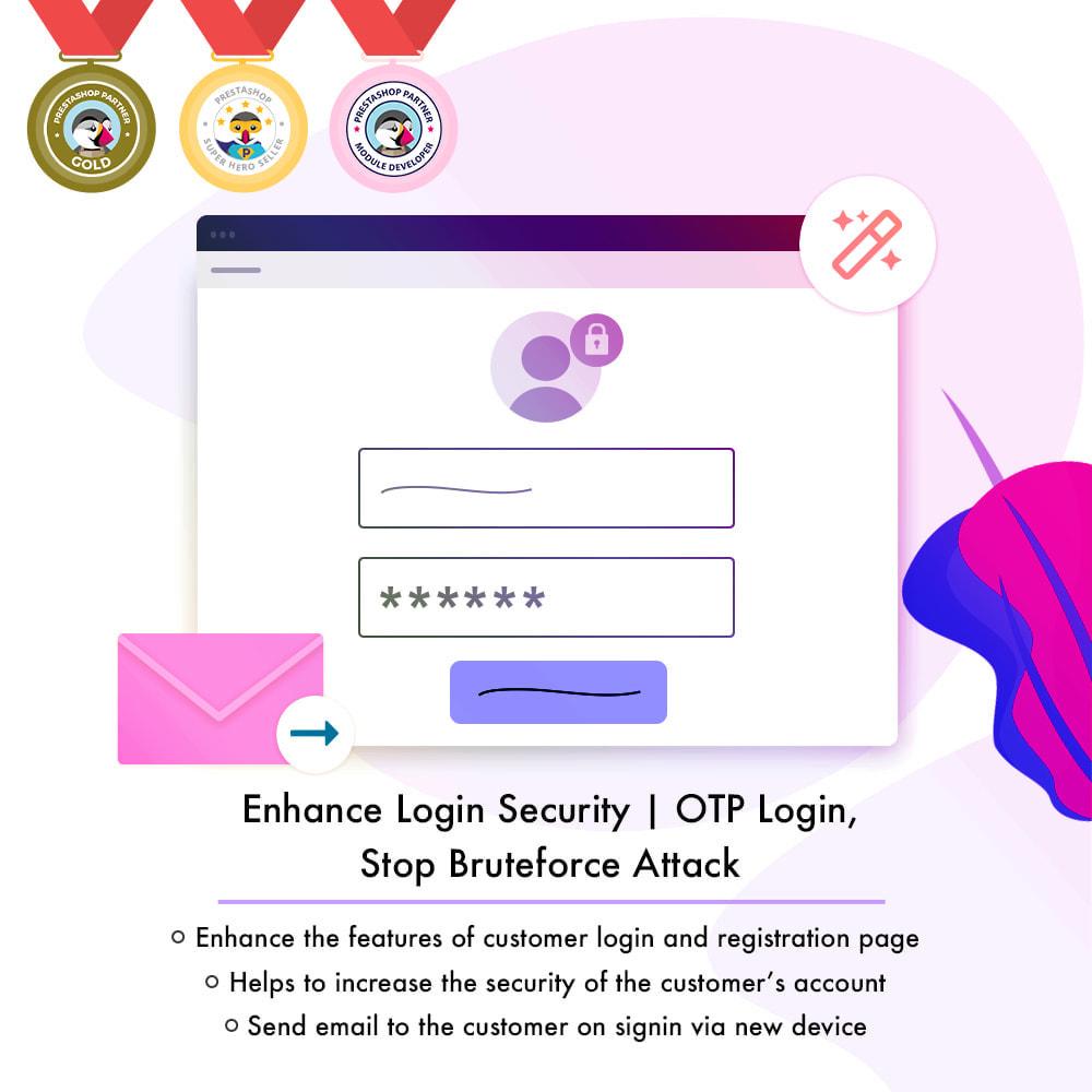 module - Segurança & Acesso - Enhance Login Security|OTP Login,Stop Bruteforce Attack - 1