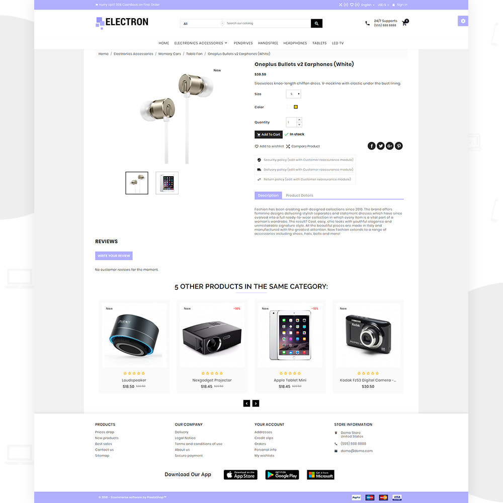 theme - Electronics & Computers - Electron – Electronics and Digital Super Store - 4