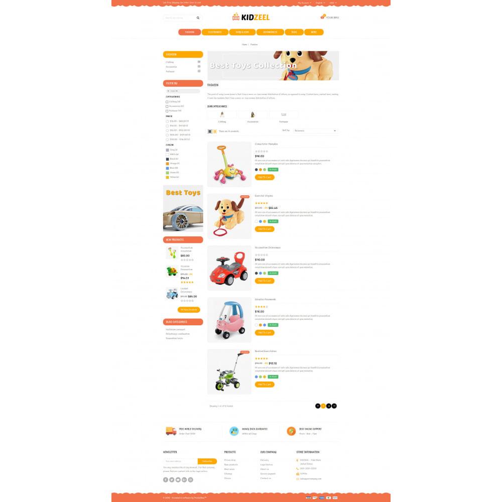 theme - Kinder & Spielzeug - KidZeel - Toys Store - 4