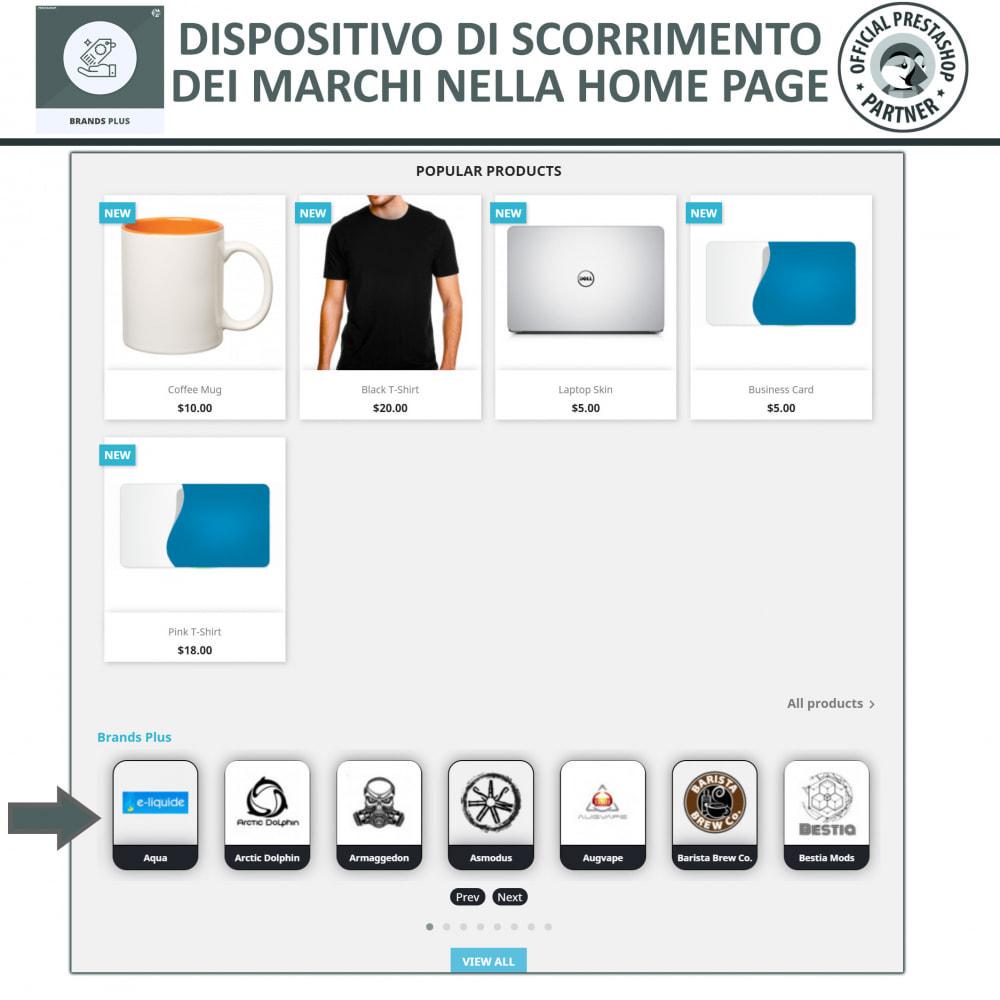 module - Marche & Produttori - Brands Plus - Responsive Brands & Manufacturer Carousel - 2