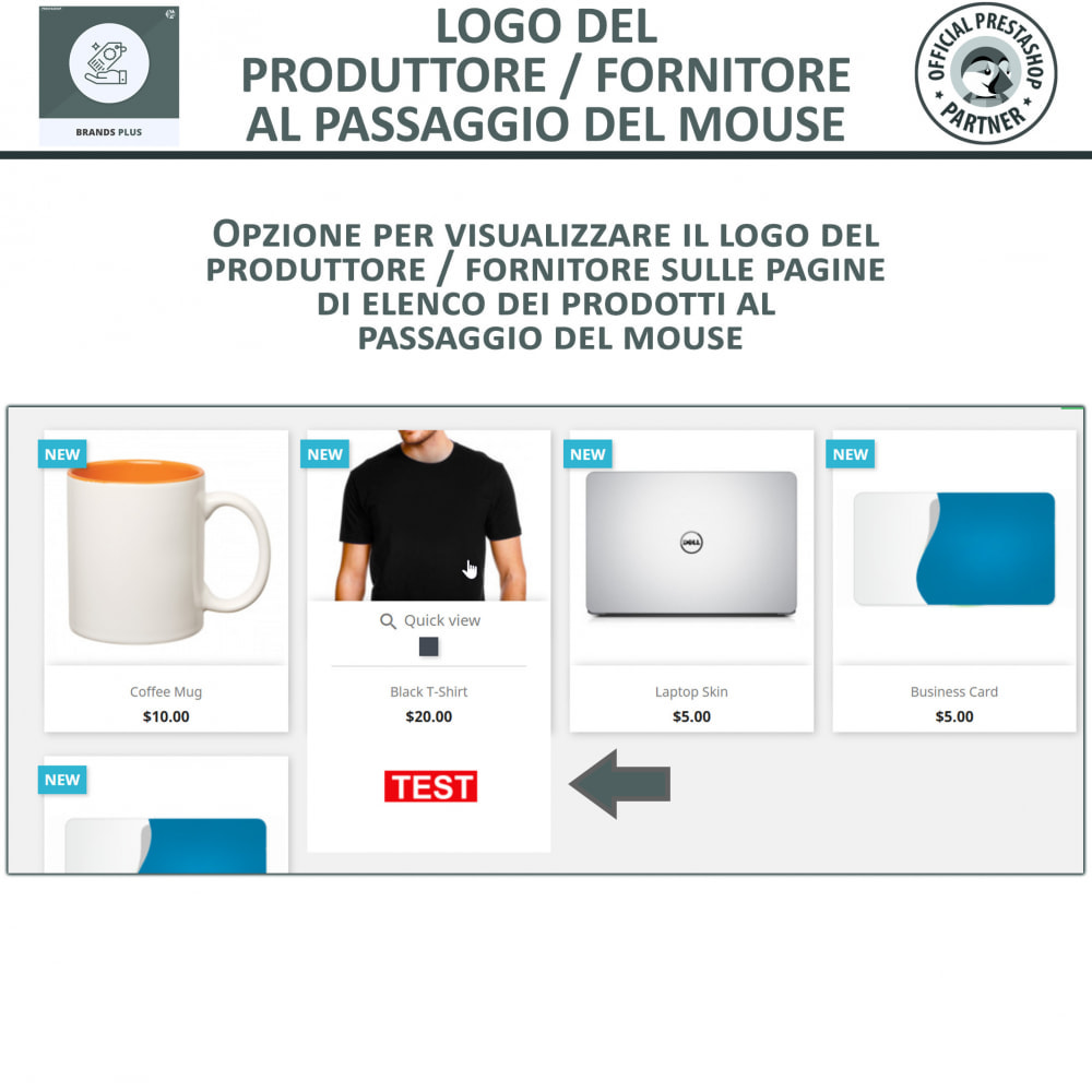 module - Marche & Produttori - Brands Plus - Responsive Brands & Manufacturer Carousel - 4
