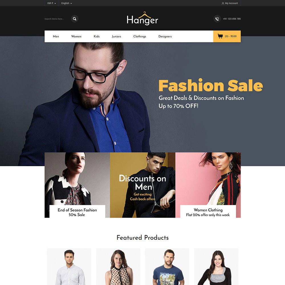 theme - Fashion & Shoes - Fashion Designer - Parallax Style Store - 1