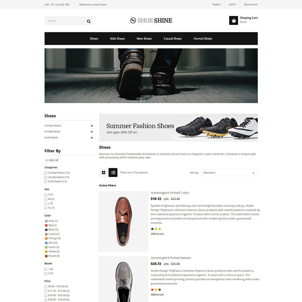 theme - Biżuteria & Akcesoria - Shoes Slippers  - Accessories Casual Shoes Store - 4