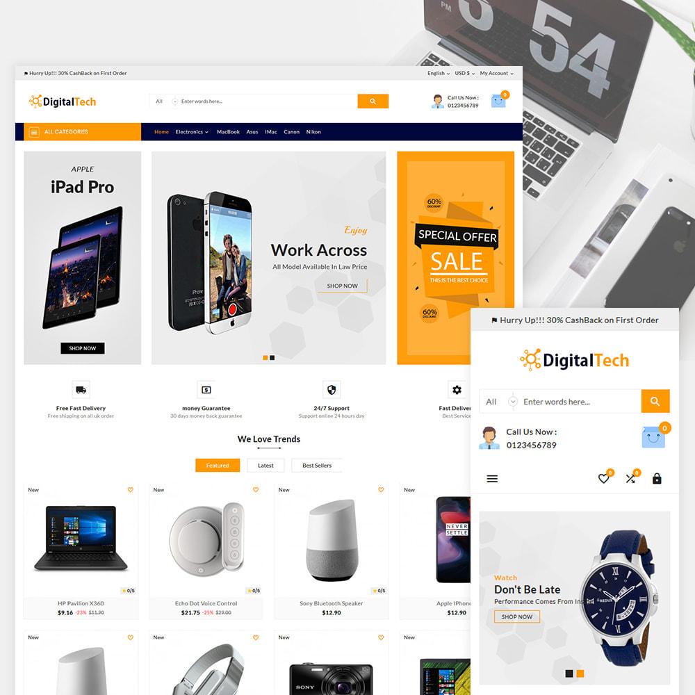 theme - Elektronik & High Tech - Digitel Tech – The Electronic Shop - 1