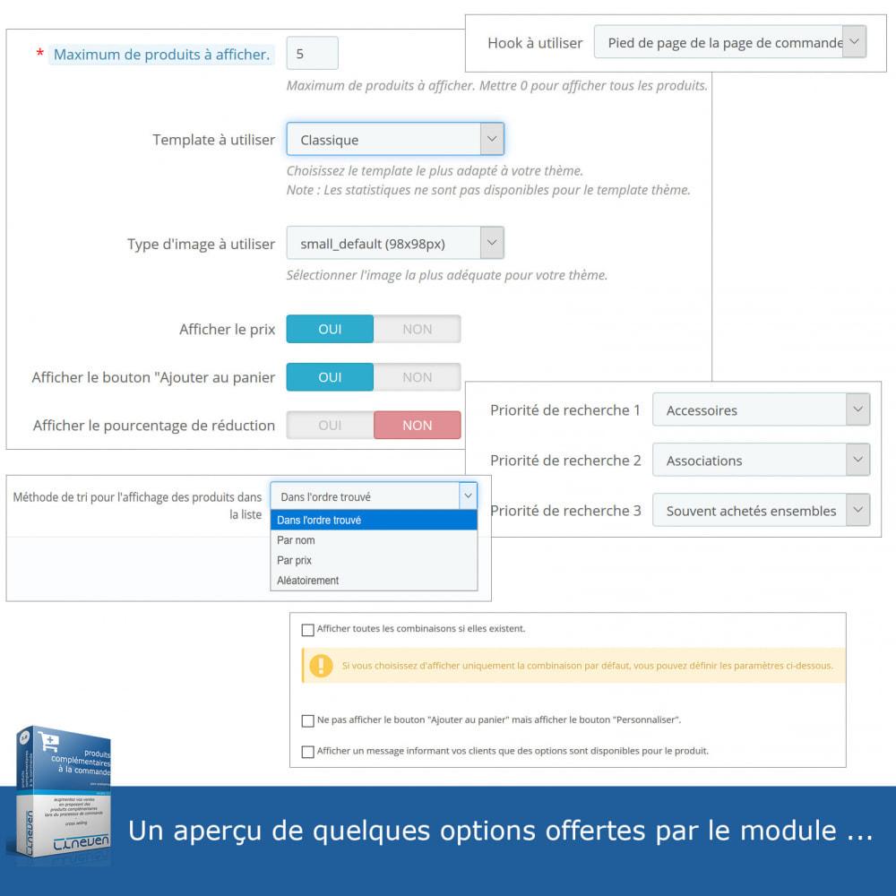 module - Ventes croisées & Packs de produits - Produits complémentaires à la commande - 8