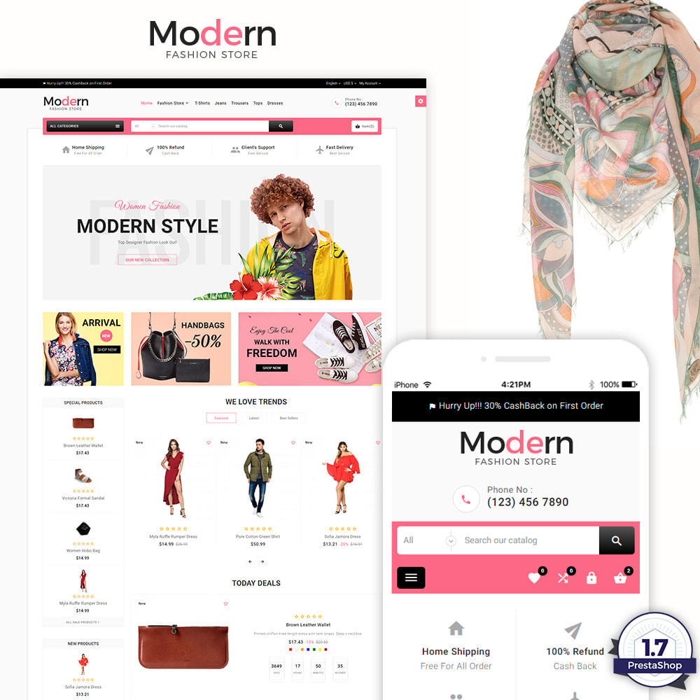 theme - Casa & Jardins - Modern – Fashion and Shoes Mega Shop - 1