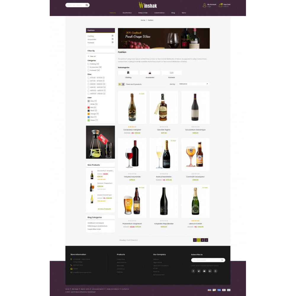 theme - Drink & Tobacco - Winshak - Wine Store - 3