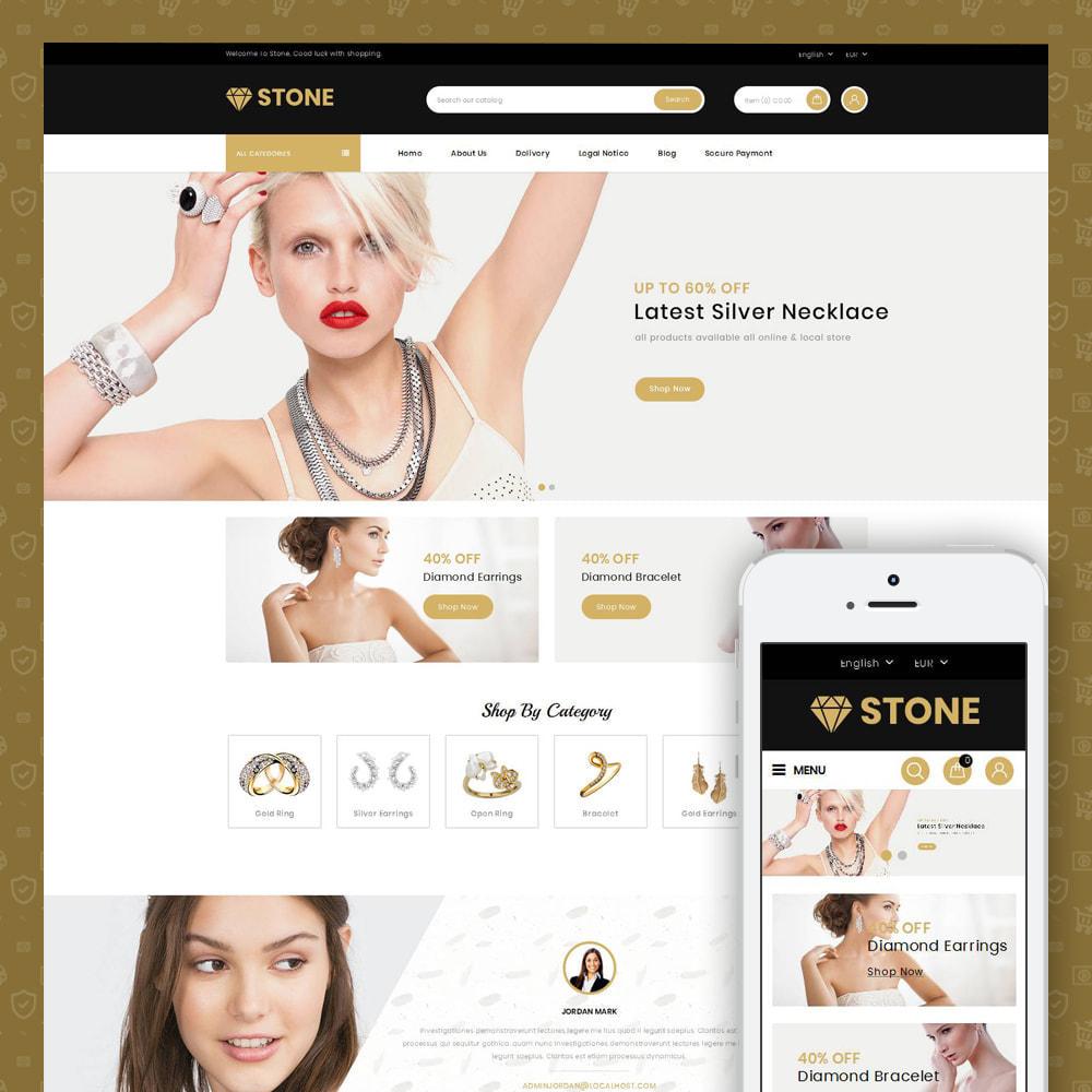 theme - Ювелирные изделия и Аксессуары - Stone - Jewelry Store - 1