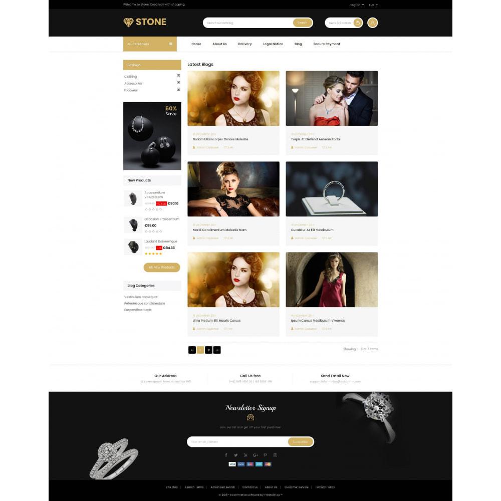 theme - Ювелирные изделия и Аксессуары - Stone - Jewelry Store - 9