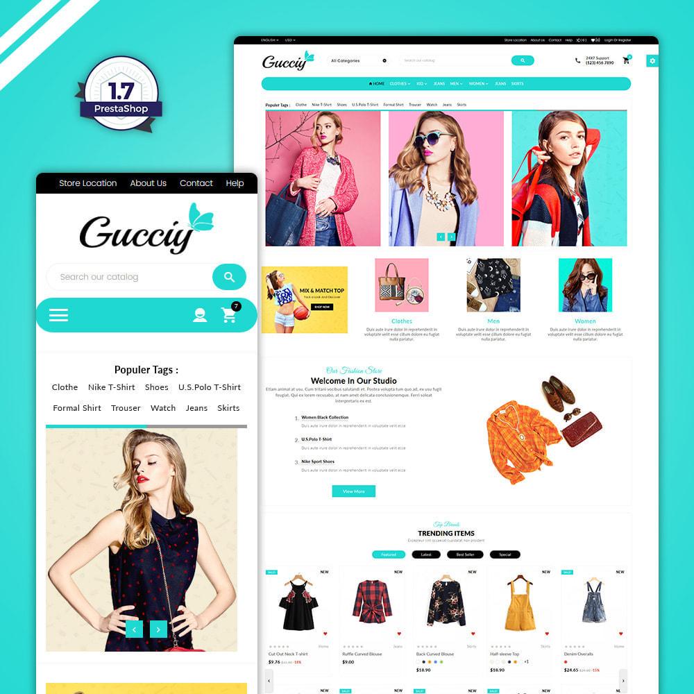 theme - Moda & Obuwie - Gucciy world–Fashion  Big Shop - 1