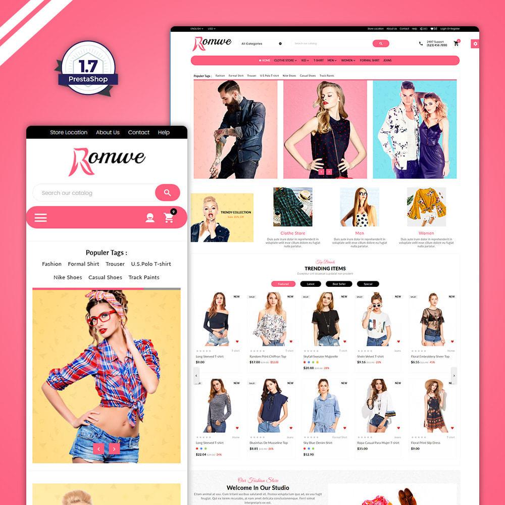 theme - Moda & Obuwie - Omwe–Fashion  Mega Shop - 1