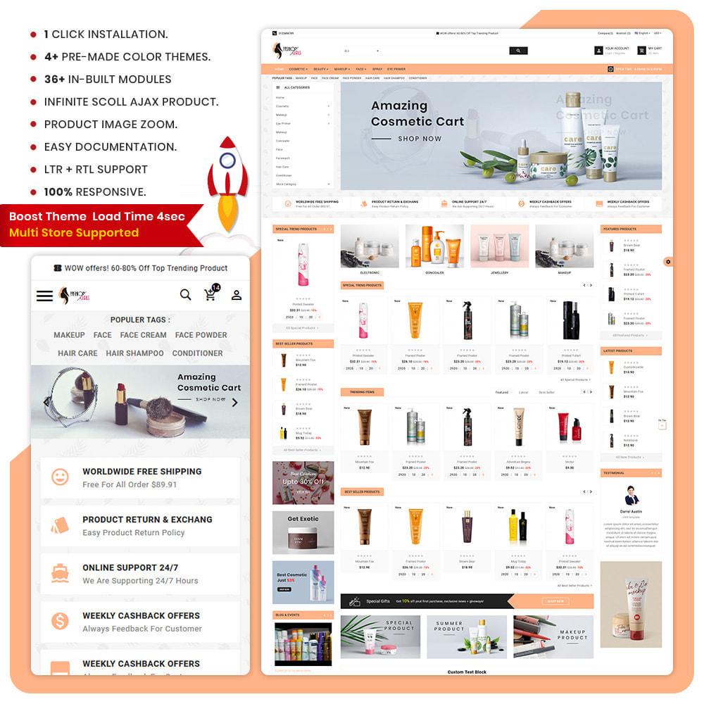 theme - Zdrowie & Uroda - Best Cosmetic– Thai Fash Cosmetic Store - 1