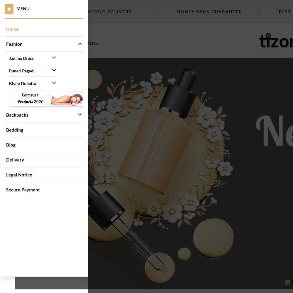 theme - Zdrowie & Uroda - Tizon - Cosmetic Store - 2