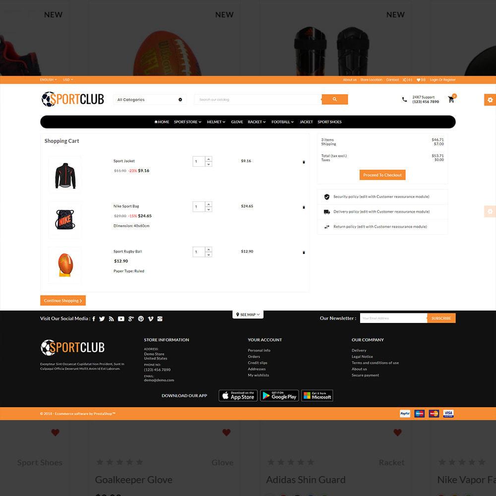 theme - Sport, Rozrywka & Podróże - Sport Club - Gym Fitness Equipment Store - 5