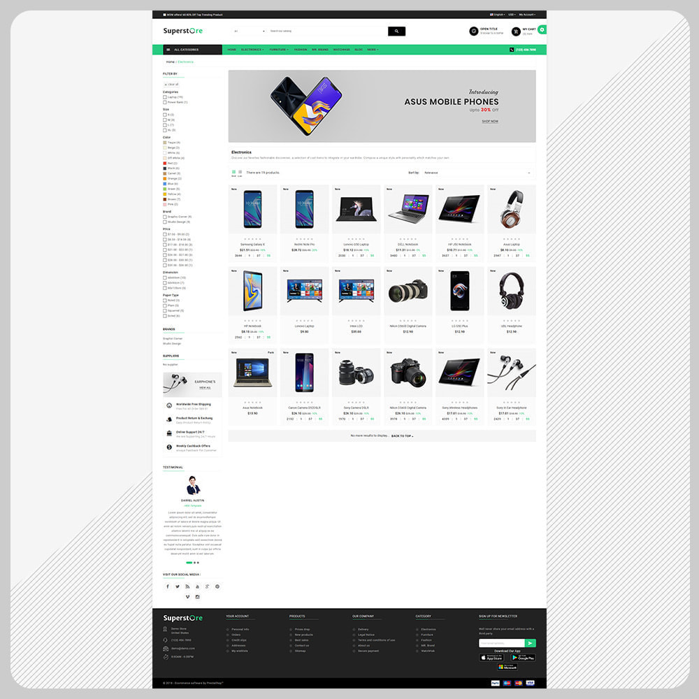 theme - Elektronika & High Tech - The Electronic – Electronic Large Shop - 3