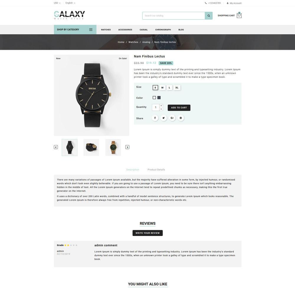 theme - Prezenty, Kwiaty & Uroczystości - Galaxy - Watch Shop - 4