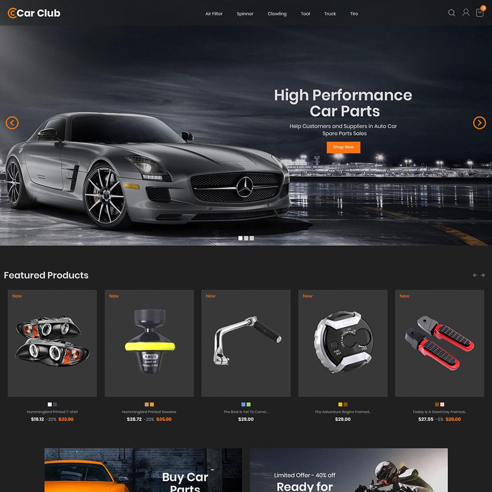 theme - Automotive & Cars - Carclub - Auto Tool Motor Spare Parts Store - 2