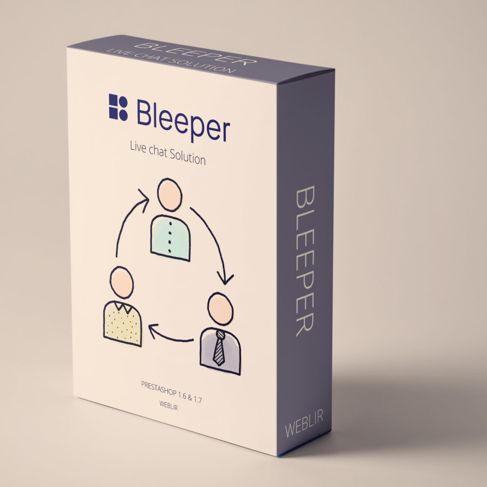 module - Support & Online Chat - Bleeper - Free Plan Live Chat - 1