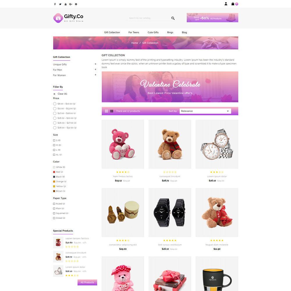 theme - Prezenty, Kwiaty & Uroczystości - Gifty Co - Gift Shop - 3