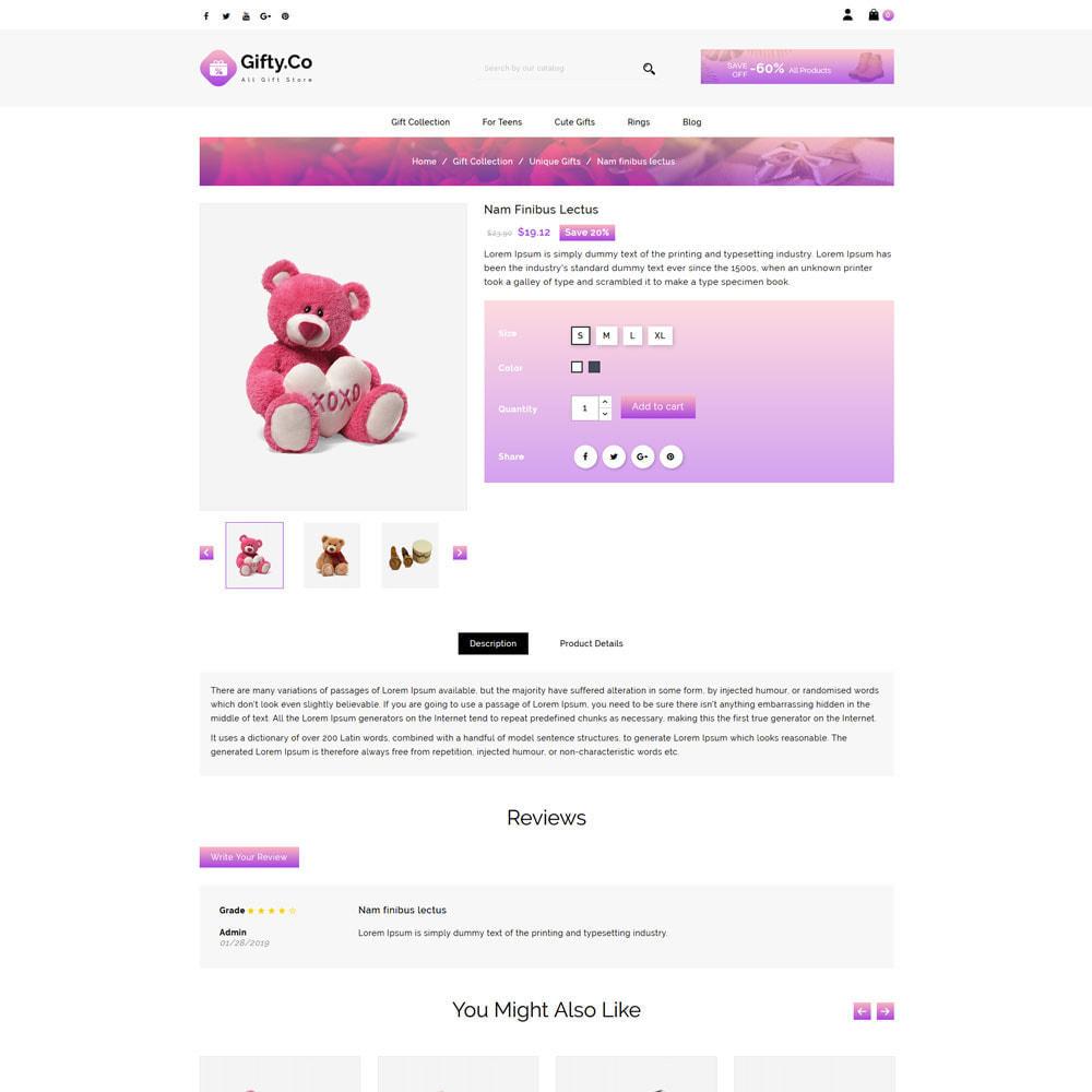 theme - Prezenty, Kwiaty & Uroczystości - Gifty Co - Gift Shop - 4