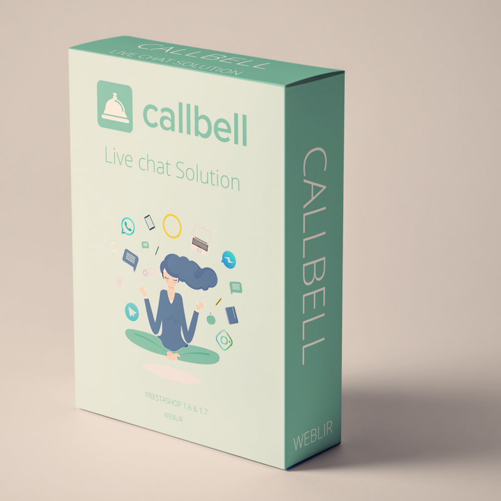 module - Suporte & Chat on-line - Callbell - Free Plan Live Chat - 1