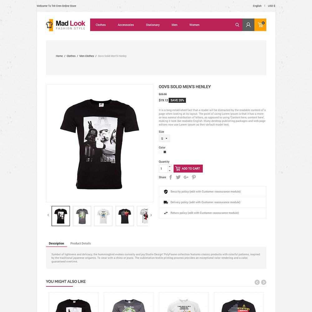 theme - Moda y Calzado - Look Tshirt  - Men Fashion Shirt  Store - 4
