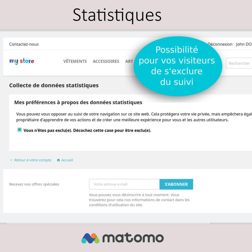 module - Analyses & Statistiques - Matomo Analytics Pro - Conforme RGPD - 4