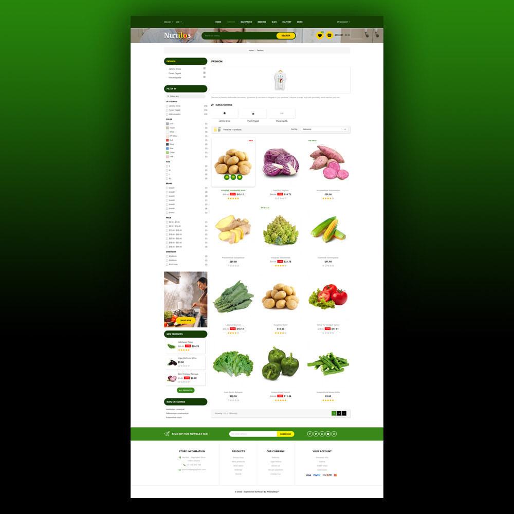 theme - Żywność & Restauracje - Nurilos - Vegetable Store - 4