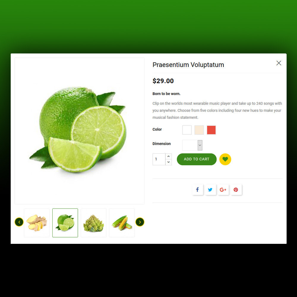 theme - Żywność & Restauracje - Nurilos - Vegetable Store - 9