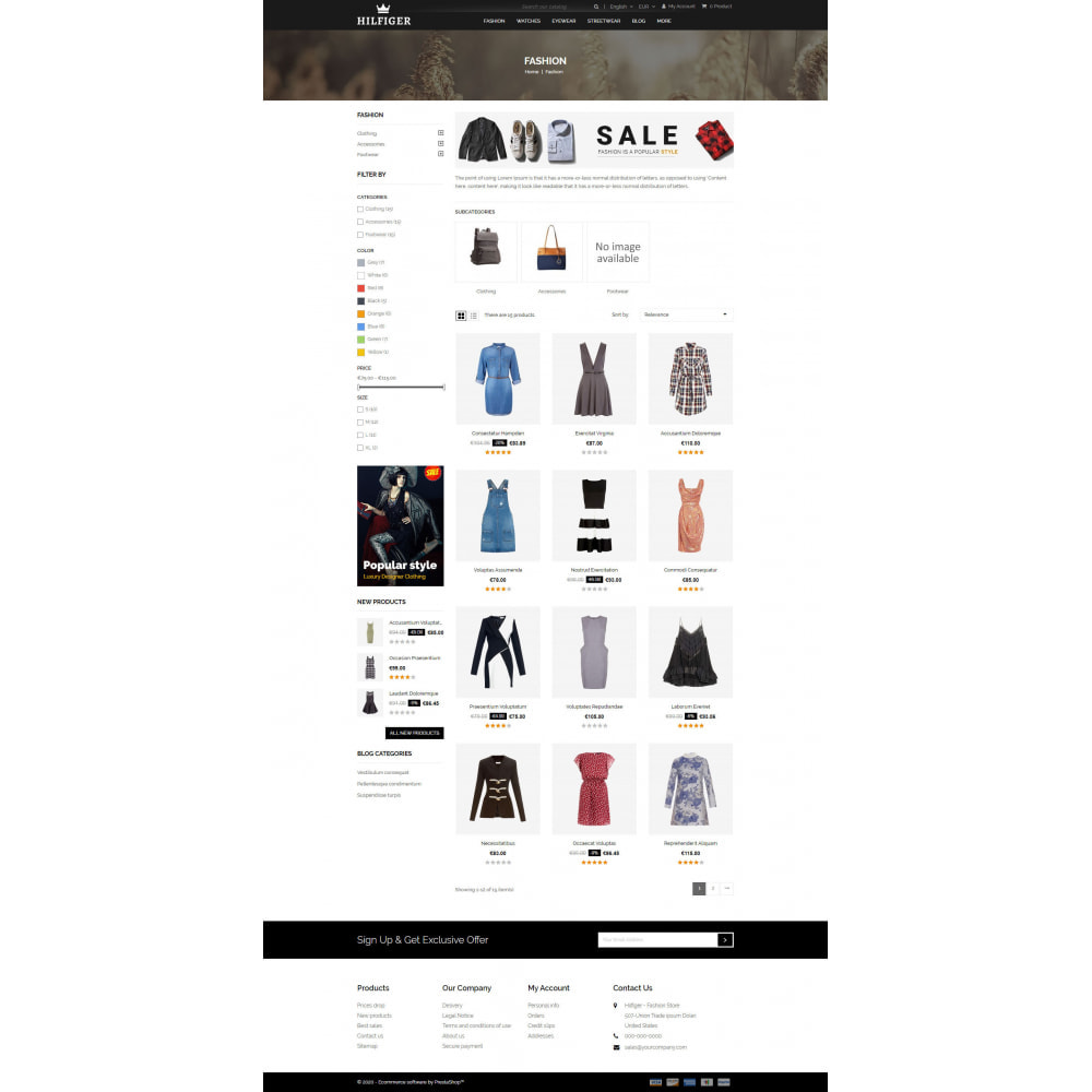 theme - Moda & Calzature - Hilfiger - Fashion Store - 3