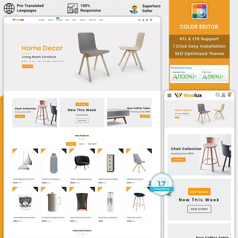 theme - Heim & Garten - Woolux - Furniture & Interior Home Decor - 1