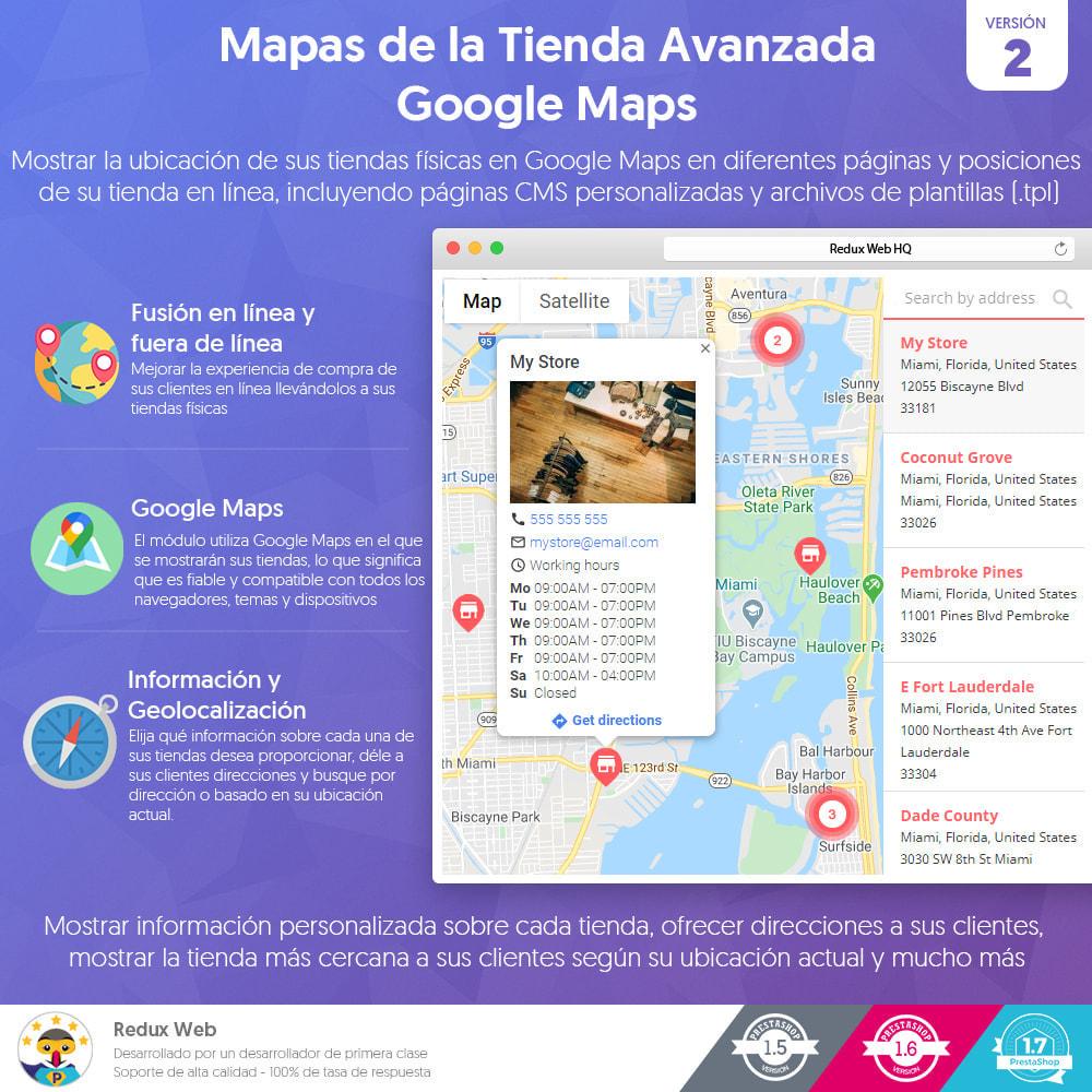 module - Internacionalización y Localización - Mapa de Tiendas Avanzadas - Google Maps - 1