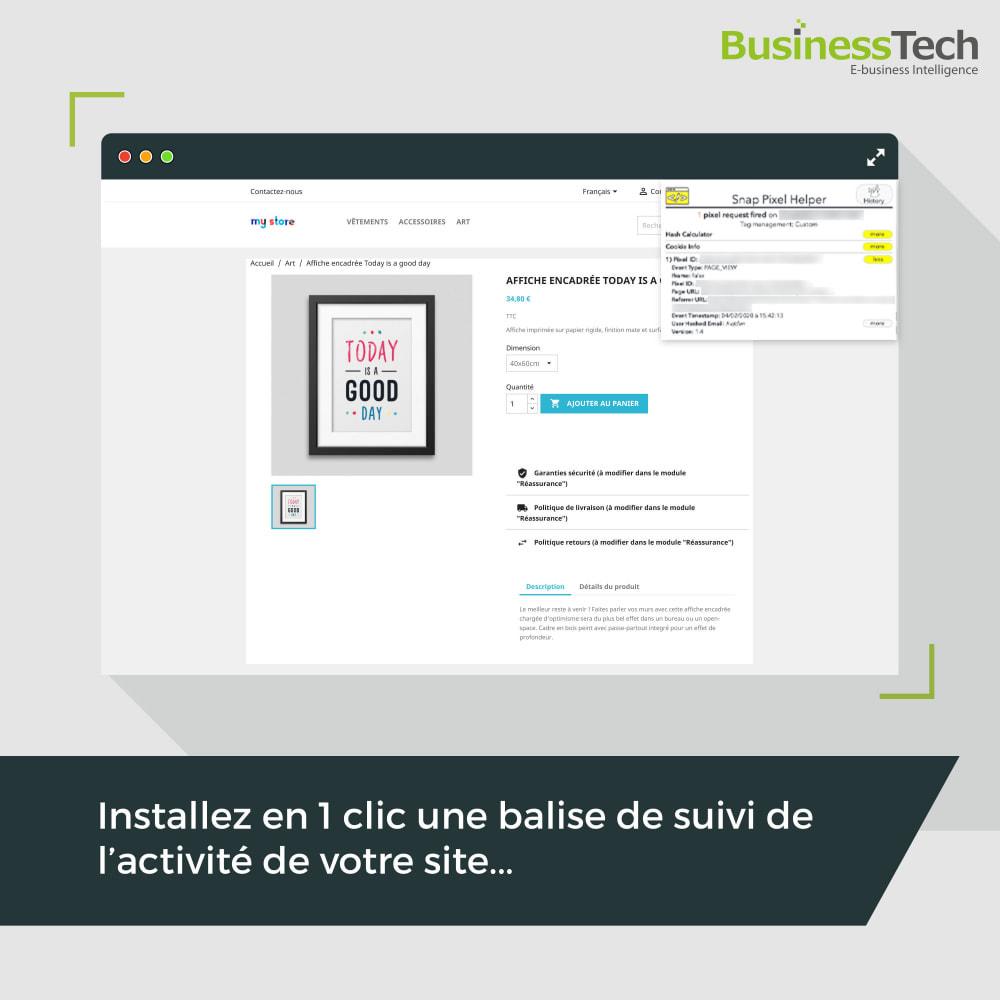 module - Remarketing & Paniers Abandonnés - Snapchat Ads + Pixel - 7