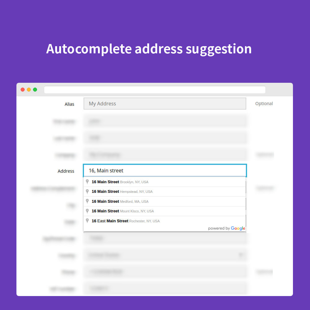 module - Bestelproces - Autocomplete Google Address - 6