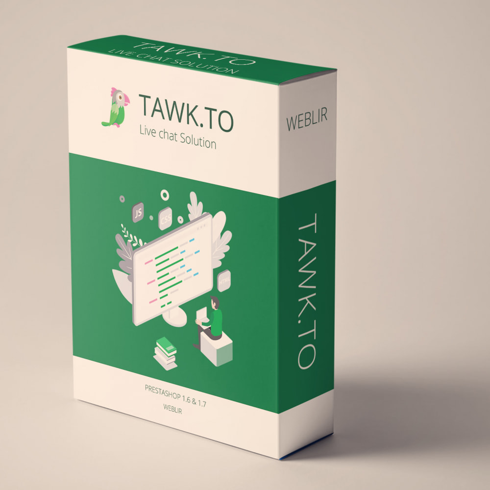 module - Supporto & Chat online - Tawk.to Live Chat with free plan - 1