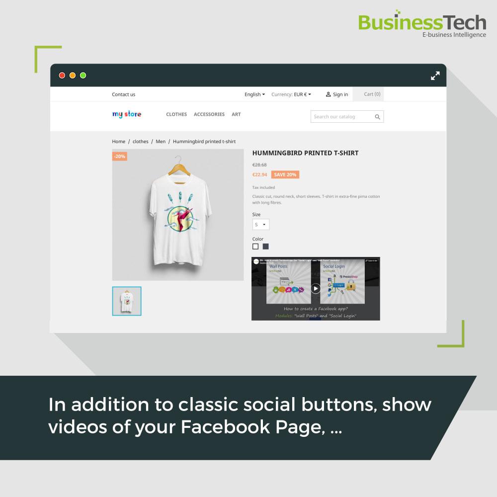 module - Pulsanti di condivisione & Commenti - Social Plugins - 5