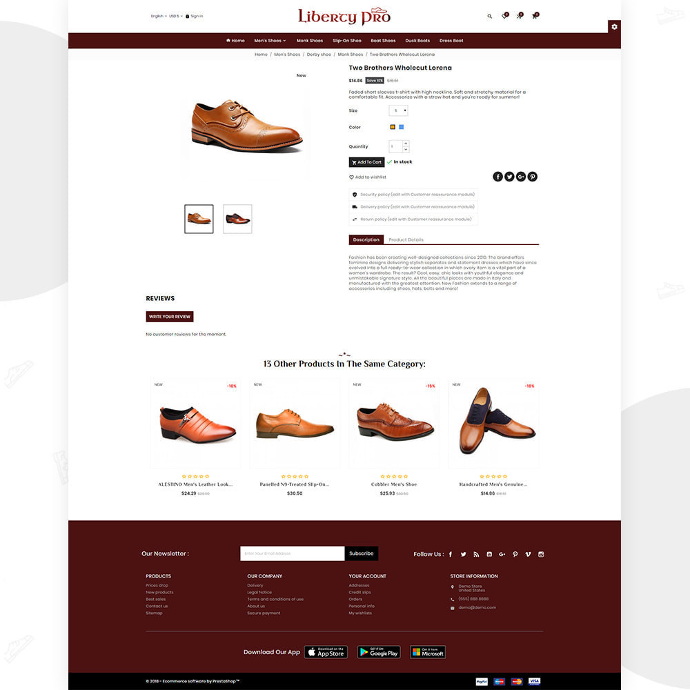 theme - Moda y Calzado - Liberty – Formal  Shoes Super Store - 4