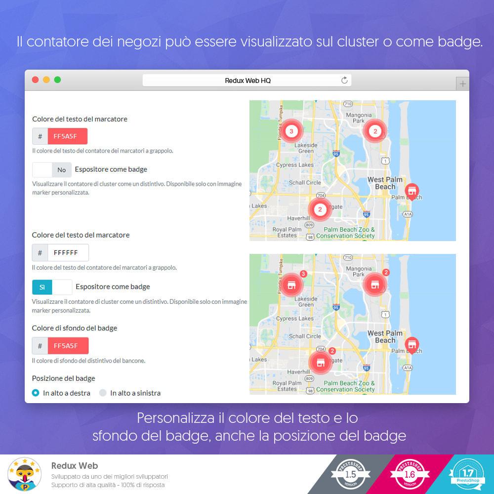 module - Lingue & Traduzioni - Mappa avanzata dei negozio - Google Maps - 7