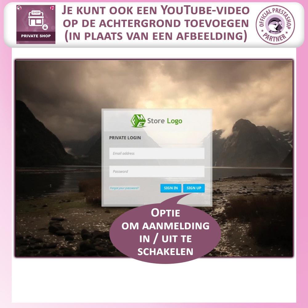 module - Uitverkoop & Besloten verkoop - Prive Winkel - Inloggen om producten te zien/Winkel - 2