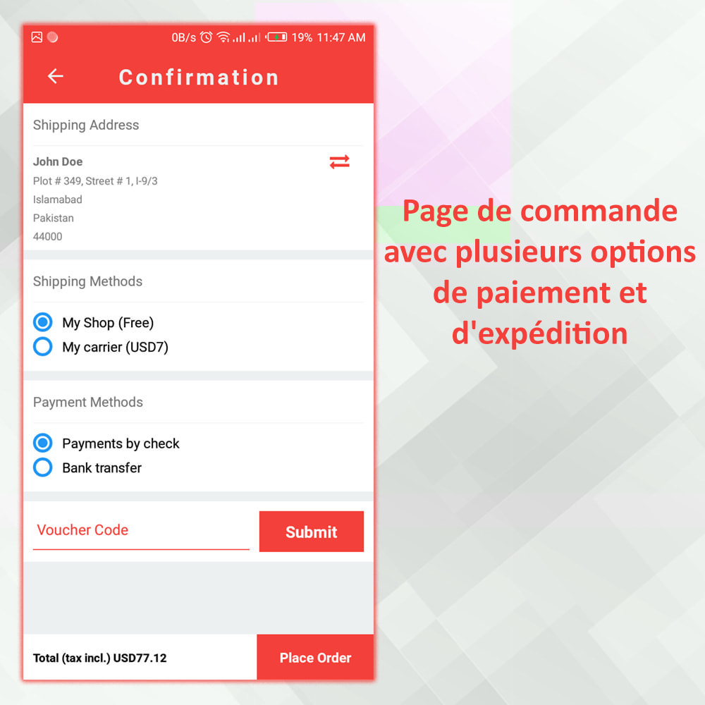 module - Mobile - PrestaMobApp - Créateur d'applications natif module - 19