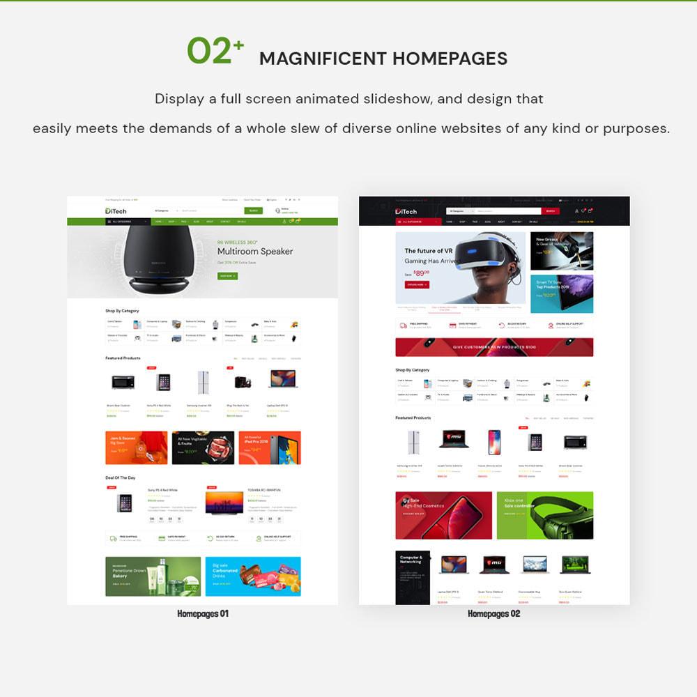 theme - Elektronik & High Tech - Ditech Electronics Ecommerce Store - 3