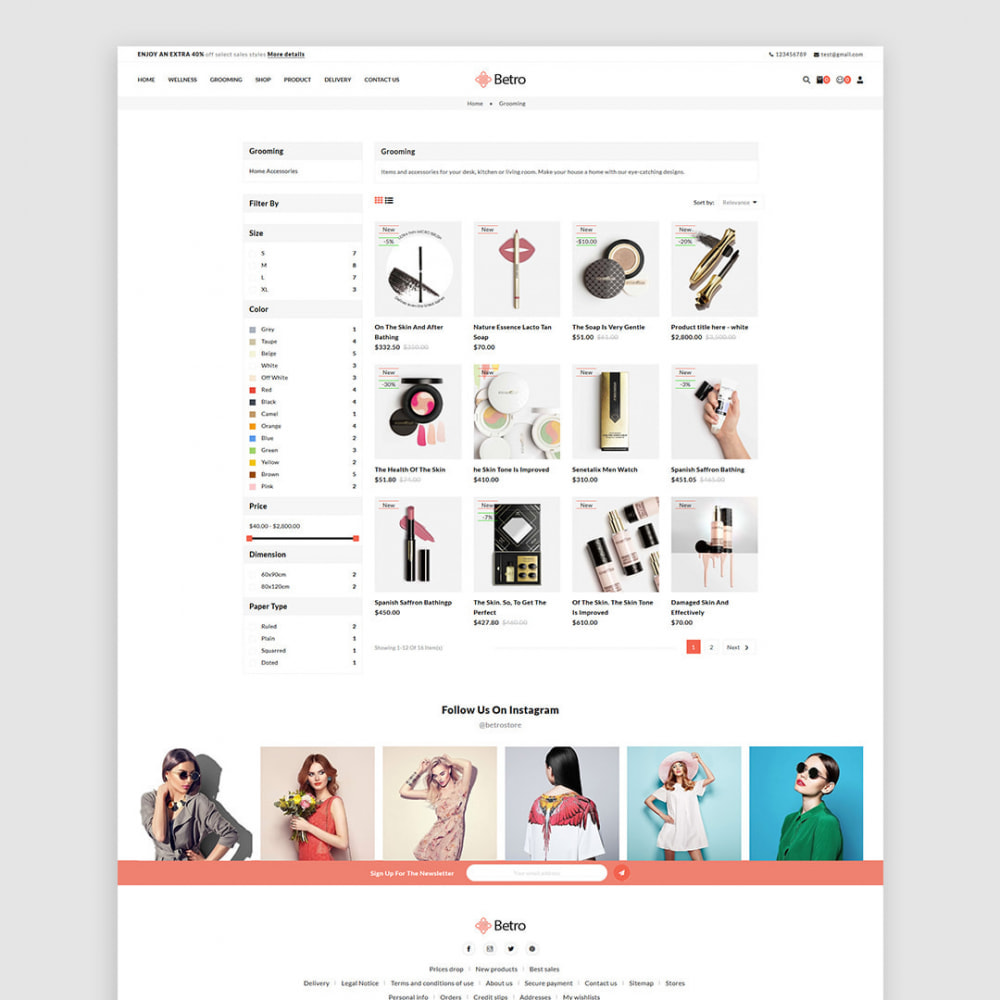 theme - Salud y Belleza - Betro - The Beauty Store - 3