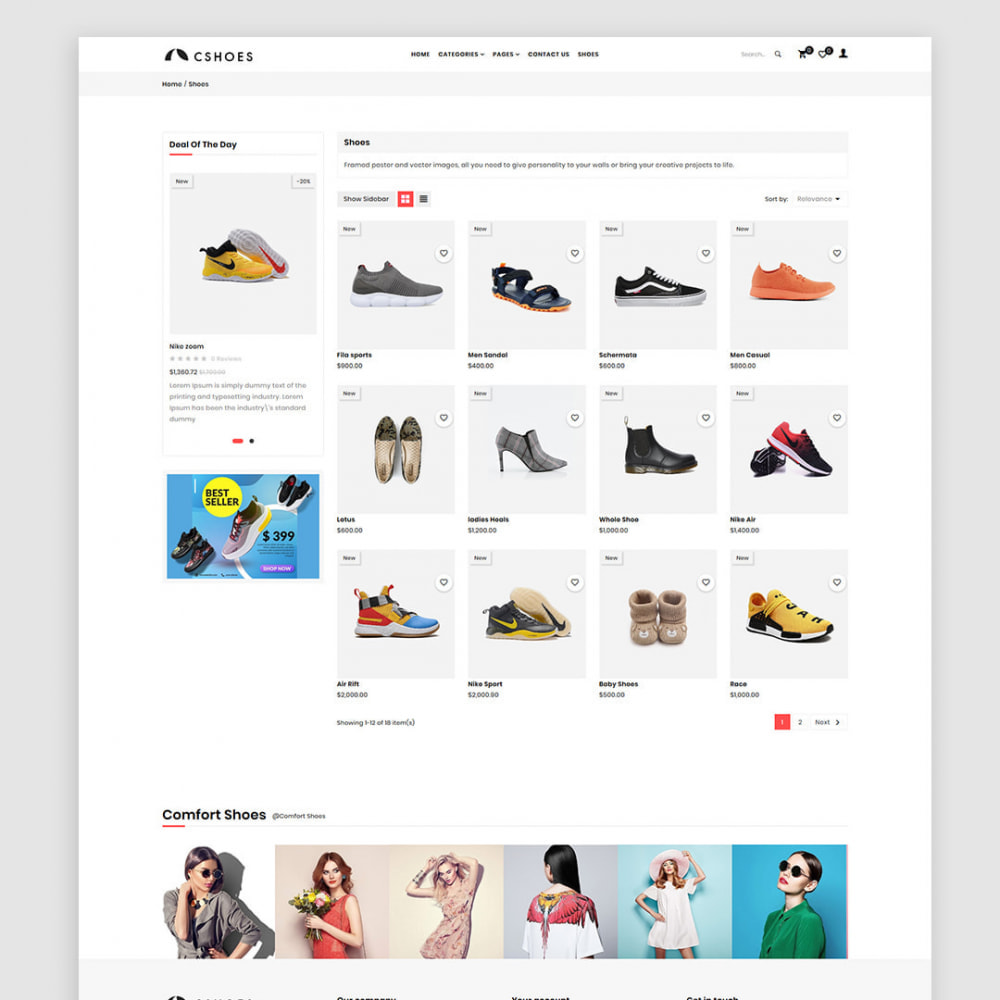 theme - Mode & Schoenen - Cshoes - The Shoes & Fashion Store - 3